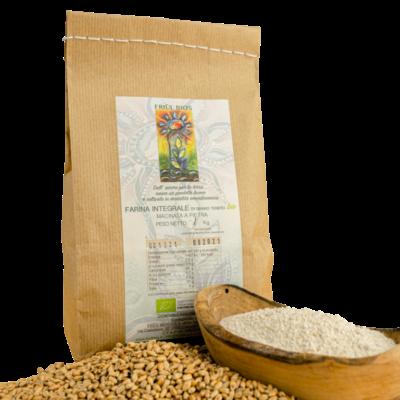 Farina integrale grano tenero bio