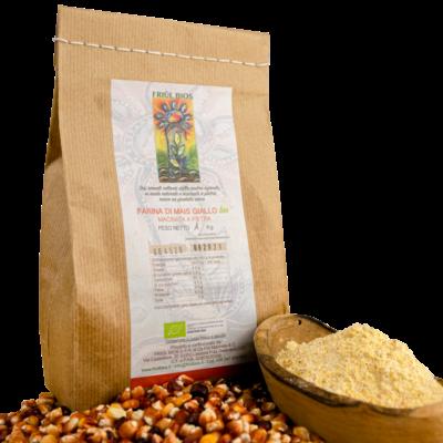 Farina di mais giallo bio