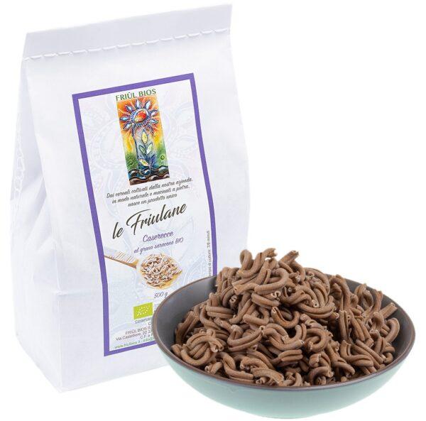 Caserecce grano saraceno bio